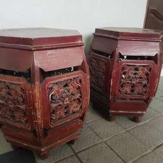 Antique stools