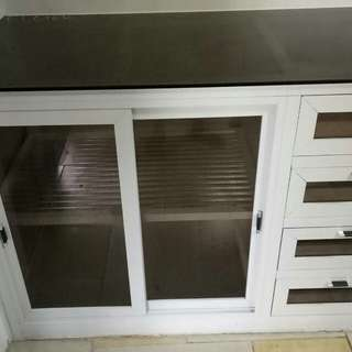aluminum kitchen cabinets