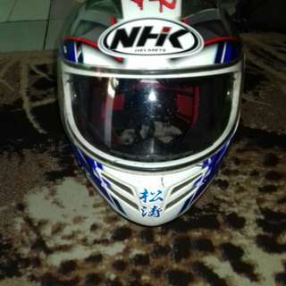 Helm NHK pakai 2 bulan
