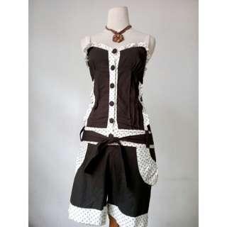 (150rb) Bodypants army onde, bhn cotton, LD60-86cm, waist 64cm, hip78, pjg82cm