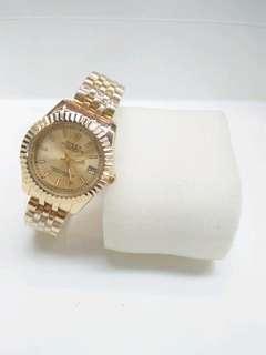 Jam tangan wanita ROLeX gold