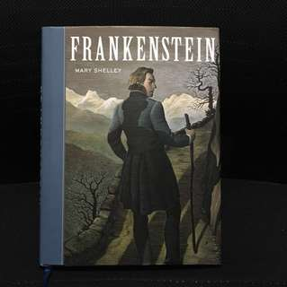 Frankenstein by Mary Shelley (hardcover)