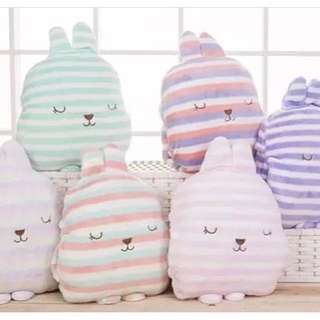 Korean colour stripped plushy toy
