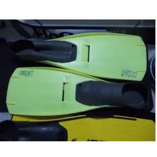 Swim Fins Flippers Contact Spirit Beuchat France