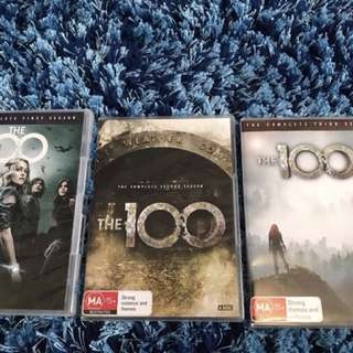 The 100 Season 1, 2 and 3 DVD