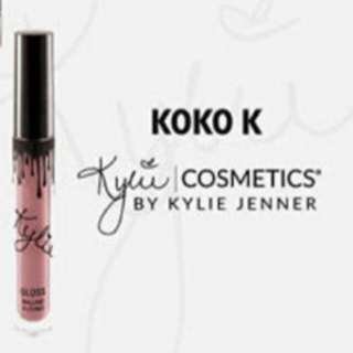 Kylie Cosmetics Koko K Liquid Matte Lipstick