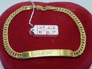 SAUDI GOLD BRACELETS