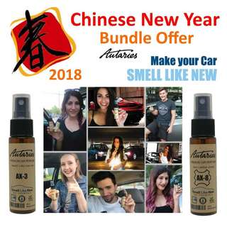 CNY Bundle Offer - Make Your Car Smell Like NEW Again