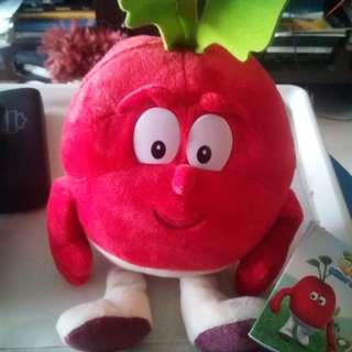Cute Red Radish Toy