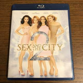 Sex and the City 2 blu-ray碟