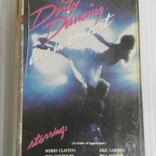 🚚 「2手正版卡帶」O.S.T /Dirty Dancing熱舞十七電影原聲帶