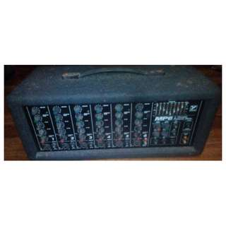 Yorkville MP6 300Watts 6 inputs Mixer Amplifier