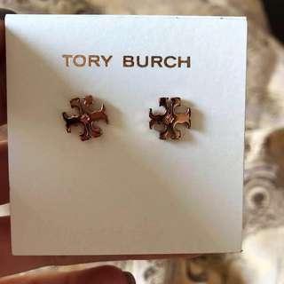 Tory Burch 耳環購自美國, 100%real 95% new