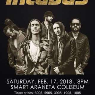 2 Incubus Tickets