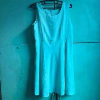 Plain White Dress