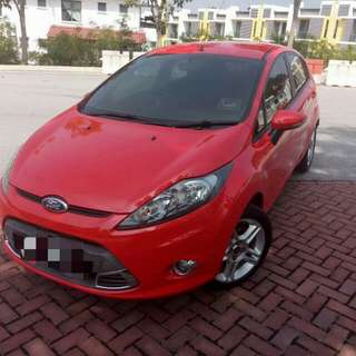 Ford fiesta continue loan