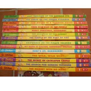 Geronimo Stilton Books  (FREE POSTAGE)
