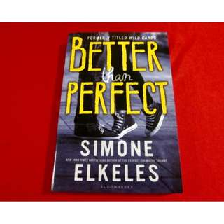 Better Than Perfect by Simone Ekeles