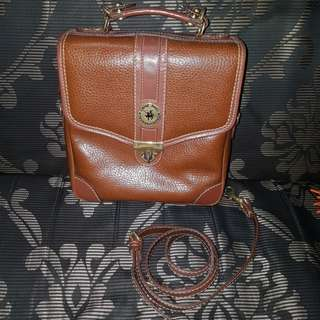 Vintage Camera Style Leather Bag