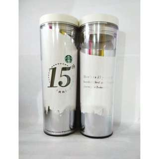 Starbucks Thumbler 15th Anniversary (Very Limited Edition)