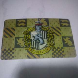 Hufflepuff ezlink card sticker free postage