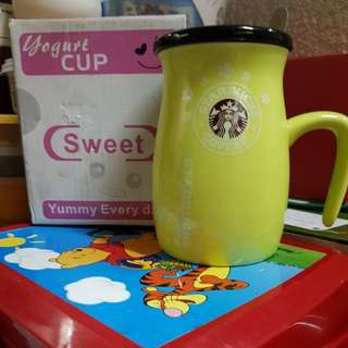 Starbucks Coffee Mug with Cup and Spoon
