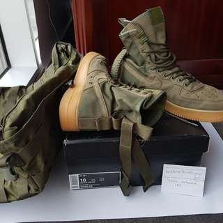 Nike Air SF AF1 Air Force One Faded Olive