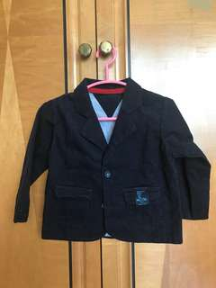 Smart Corduroy evening jacket for boys 3-6 months