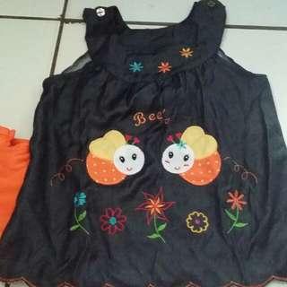 baju anak fit 2y