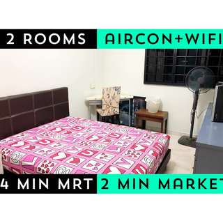 2 Common Rooms For Rent 1 Room $600 2 Rooms $1200