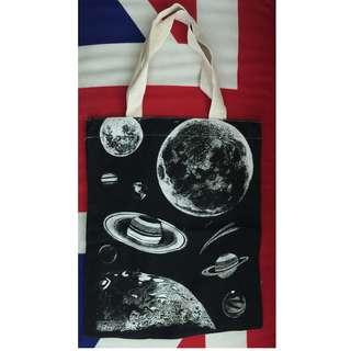 星球 shopping bag (L)