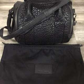 Genuine Alexander Wang Rockie bag in pebbles lambskin