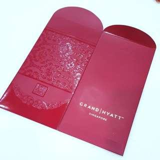 2 PCS Grand Hyatt Hotel SG Red Packets