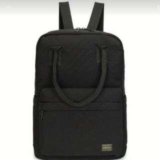 Comfy Tokyo Porter Yoshida Black Quilt Bag