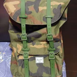 Herschel the little america weather camo 24L backpack背囊