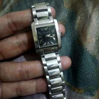 Authentic Emporio Armani watch for ladies