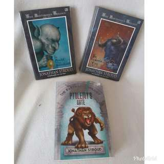 Novel kolektor preloved The bartimaeus trilogy set bahasa indonesia