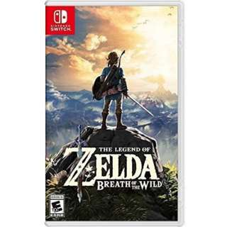Nintendo Switch | Zelda Breath of the Wild
