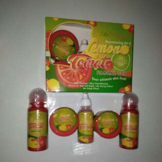 Skin Magical Rejuvenating Set #4  Lemon Tomato with Apple Cider Facial Set