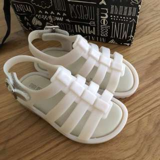 Mini Melissa Flox BB Slingback Sandal (size 6)