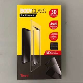 ezone推薦 Torrii iPhone X 3D 全包 mon貼 玻璃貼