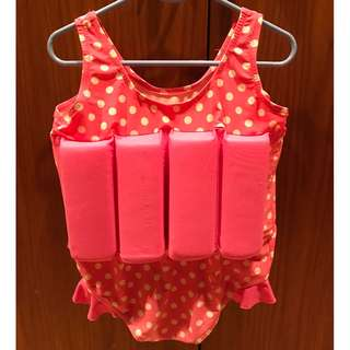 Girl's Float Swim Suit