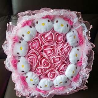 Hello Kitty Bouquet flower *Brand new *pm if int