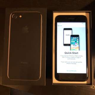 iPhone 7 JetBlack 256 GB Excellent Condition