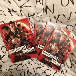 Criminal Minds DVD Season 6