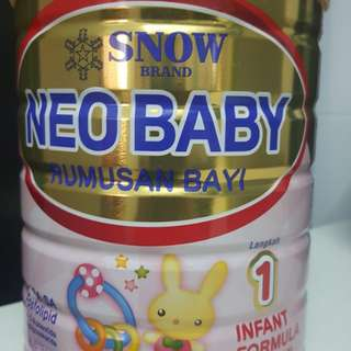 Original Neobaby Formula Milk 900g. Brand New!