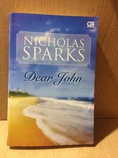 Novel Terjemahan Dear John - Nicholas Sparks