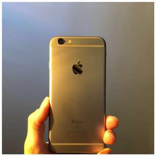 New-ish iPhone 6s, 128gb space grey, package deal.