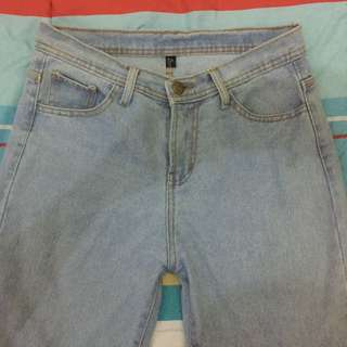 Plain BF Jeans (light blue)