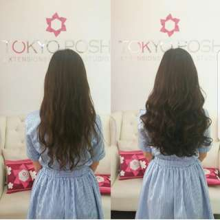 Tokyoposh clip in hair extensions